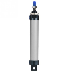 25mm Bore 100mm Stroke Single Rod Mini Pneumatic Air Cylinder Double Acting