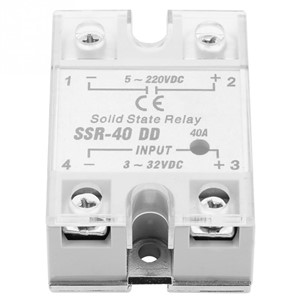 SSR-40 DD 40A 5-220VDC Solid State Relay for Industrial Automation Process Solid State Relay High Quality
