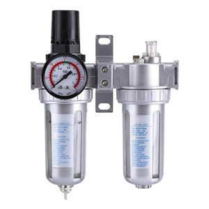 3/8 Inch SFC300 Pneumatic Gas Source Processor Keep Air Pressure Stable Removal Solid Particles Air Filter Regulator Lubricator