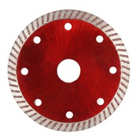 105*1.0*20mm Diamond Cutting Disc Saw Bit Continuous Turbo Diamond Blade 8 Cooling Holes 20mm Inner Diameter Ceramic Incising