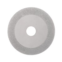 "100mm 4"" Inch Diamond Coated Grinding Cutting Disc Saw Bit 20mm Inner Diameter Rotary Wheel 160 Grit For Angle Grinder"