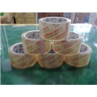 BOPP Crystal Adhesive Tape Rolls Packing Gummed Tapes