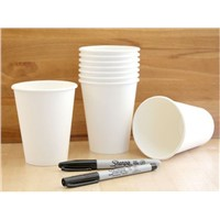 Hot Selling Disposable Paper Cups Glass Custom Logo