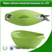 High Quality New Creative Food Grade Silicone fish bakeware