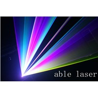 4.5W RGB laser projector/light