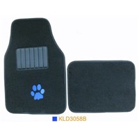 KLD3058,car mat ,auto mat ,carpet car floor mat ,car accessories