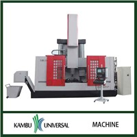 Vertical lathe and CNC vertical lathe