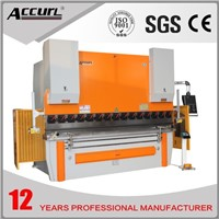 hydraulic aluminum metal bending machine , manual sheet metal bending machine 300T/2500