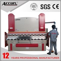 hydraulic aluminum metal bending machine , manual sheet metal bending machine 100t/4000