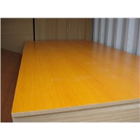 melamine laminated plywood slatwall panel mdf baord