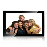 21.5-inch digital photo frame, HD ad player, electronic albums