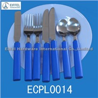 Promotional plastic Handle Cutlery(ECPL0014)