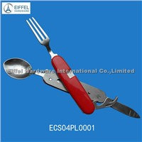 Multi Tool with spoon , fork and knife  (ECS004PL0001)