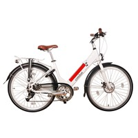 Electric Bicycle CF-TDF07Z/Aluminum Lady Electric Bike/High quality low price electric city bike