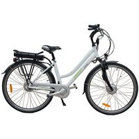CF-TDB02Z 28'' Aluminium Alloy Electric City Bike with Lithium Battery