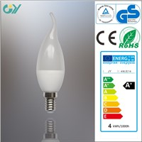 JY-A6-CL35 LED candle bulb