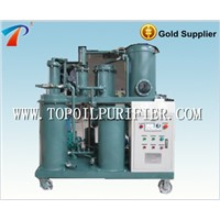 Lubricating oil vacuum purifier machine with no secondary pollution,NAS 5 oil purification