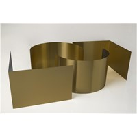 14709 Champagne Gold Colored Stainless Steel Decoration Sheet