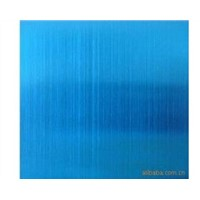 14711 Blue Diamond Ti-coating Colored Satin Finish Decorative Stainless Steel Plate