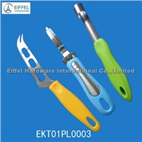 Promotional cheese knife /peeler / Apple Corer(EKT01PL0003)