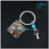 special innovative Egypt souvenir metal keychain