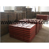 Shanbao Jaw crusher Jaw Plate high manganese with Chrome