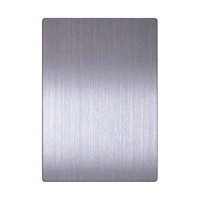 14741 Copper Ti-coating Colored 201 304 316 Hairline Stainless Steel Sheet