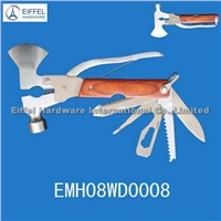 High quality multi Axe with wood handle (EMH08WD0008)
