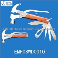 High quality multinational Claw Hammer with wood handle (EMH08WD0010)