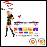 Fire red super thin high power led light bar