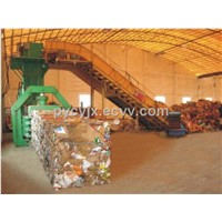 Fully Automatic waste paper baler
