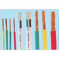 Rigid single copper electrical cables, environment-friendly