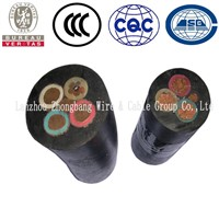 Three Cores Tough Rubber Sheathed Flexible Cable with Specification of 3x25mm2