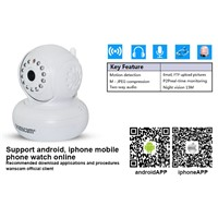 Wanscam JW0004 Indoor Mini P2P Wifi IP Camera