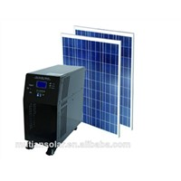integrated solar power storage system