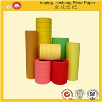 100% Wood Pulp Basic Weight 115gr 88mm Size Car Air Filter Paper