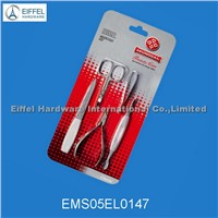 5 Pcs Manicure tools in Blister Card(EMS05EL0147)