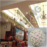 Decorative flower ball, Artificial rose ball