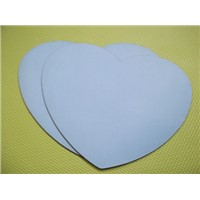 Purity Mouse Pad, Heart-Shaped Mouse Pad