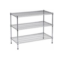 Wire Shelf, Chrome-plated Wire Shelf, Storage Rack,