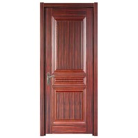 Solid wood door, with 100% solid frame and solid core