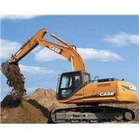 used excavator of CASE