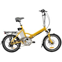 Portable folding electric bicycle