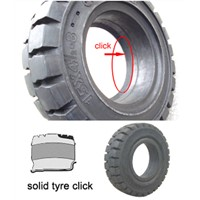 Click on Easy Fit Solid Tire for Industrial Forklift