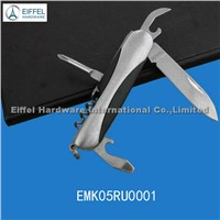 5 in 1 Multi knife with rubber part embeded (EMK05RU0001)