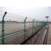 China supplier of PVC coated Railway Fence Barrier