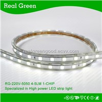 220V SMD5050 LED strip light White