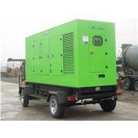 Trailer Power Generator Set Hynudai Engine with Stamford Alternator 50Hz Frequency
