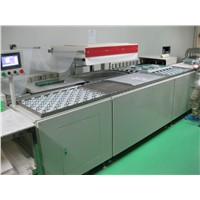 full auto PCB skin packer, auto skin packaging machine