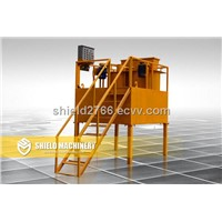 foam mixer, brick making machine